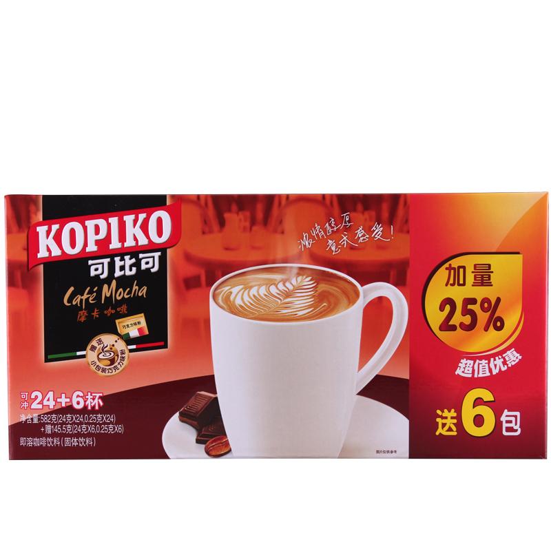 ~天貓超市~印尼 可比可 摩卡咖啡24包裝 576g 盒