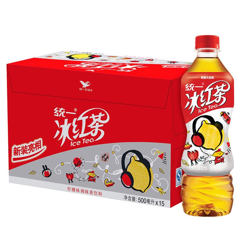 ~天貓超市~統一冰紅茶 500ml^~15瓶 箱 年輕無極限 統一冰紅茶