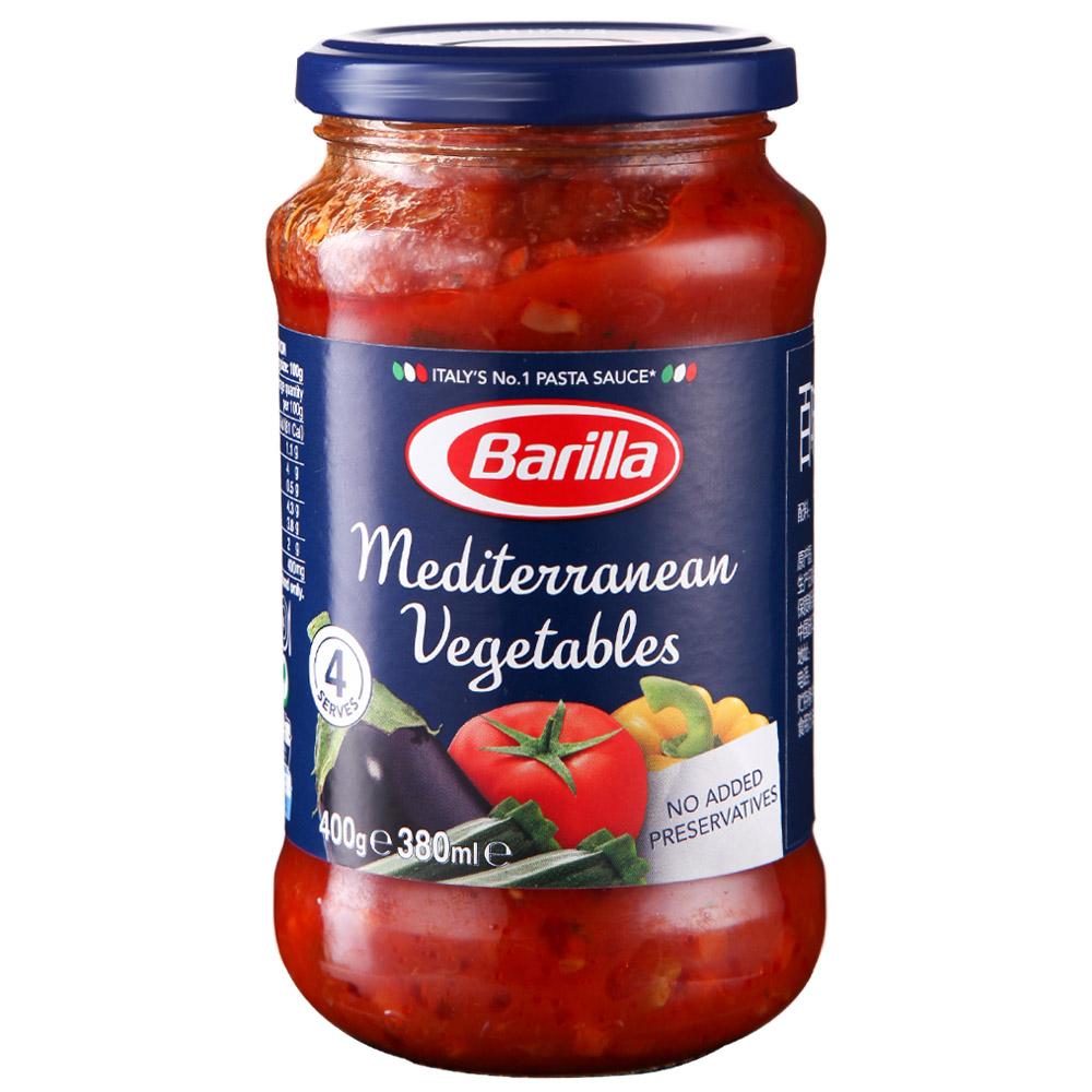 ~天貓超市~意大利 百味來地中海風味蔬菜番茄意麵醬 400g