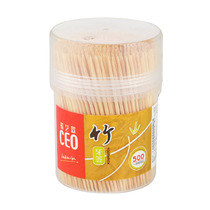 CEO hope European Bottled disposable bamboo toothpick natural bamboo canned hotel home 500-barrel