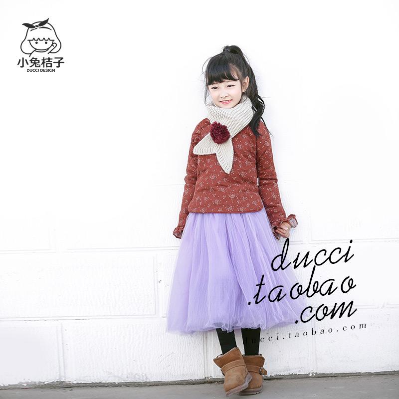 女童碎花棉袄复古中式儿童冬季新款加厚童装短款棉衣中大童外套女图片