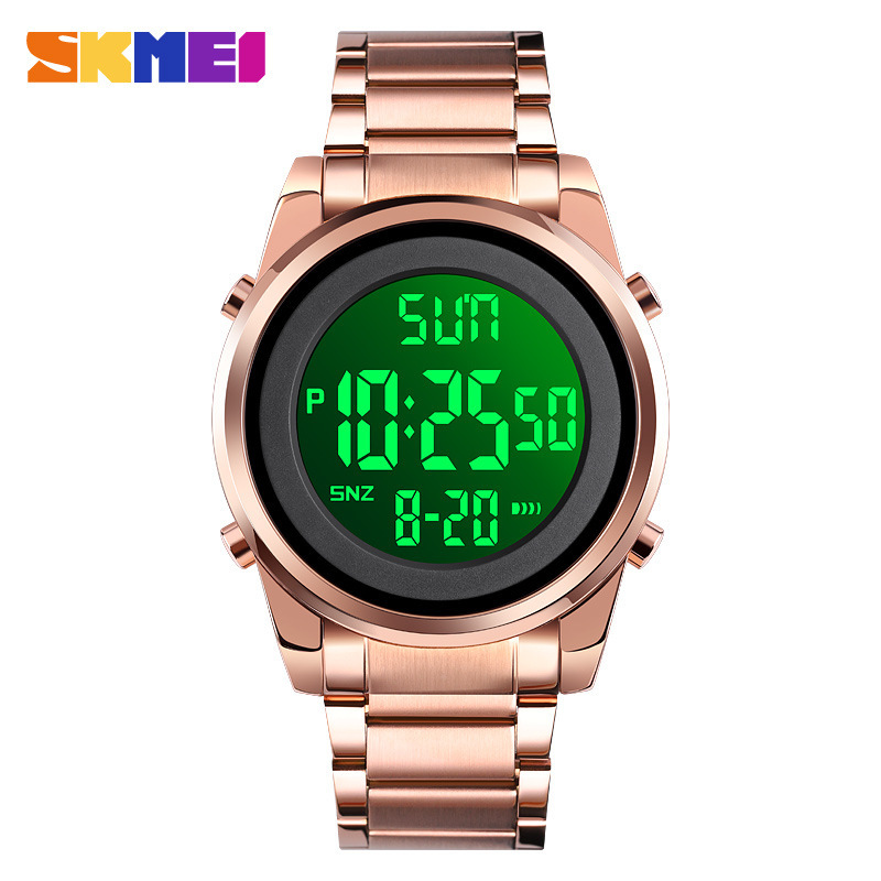 Skmei timepiece mens stainless steel band business fashion timepiece brand watch