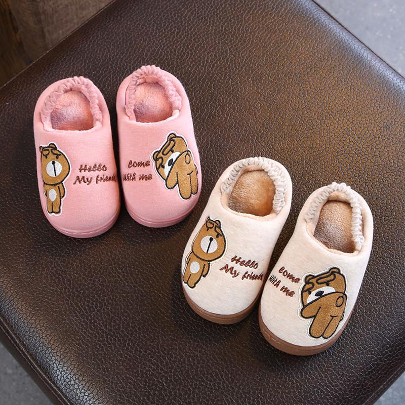 Детские тапки Женщина 1-3 лет нескользящие 7 младенцев осень-зима Сезон мягкий дно нескользящие Большой, средний и маленький мужские и женские ребенок детские ботинки с утеплением