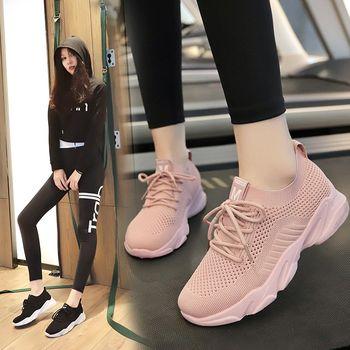 【两双78元】四季必备跑步鞋飞织运动鞋女