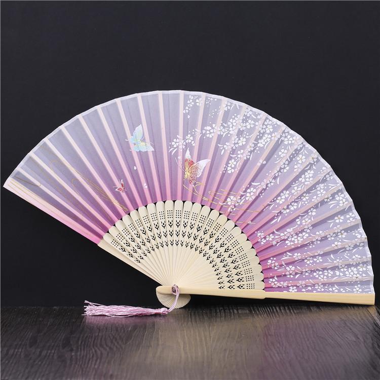 中国古典复古风折叠女式小扇子扇子