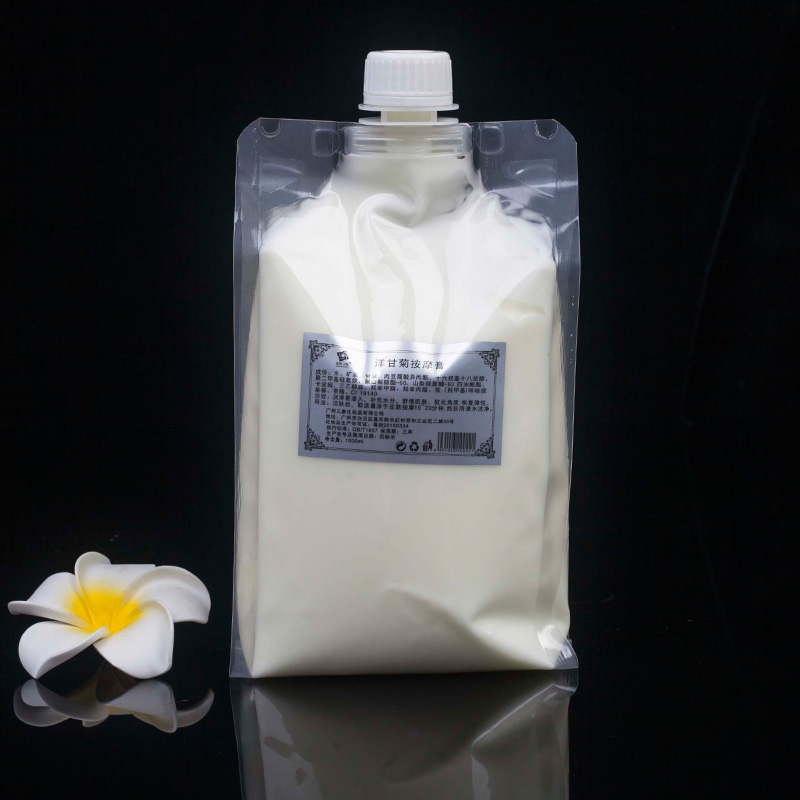 Chamomile anti allergy moisturizing facial massage cream 1000g in bags commonly used in beauty salons