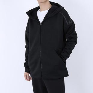 Adidas阿迪达斯外套男装2019秋季新款运动服连帽训练夹克EB5230