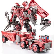 碾压废渣挖土机大力神咆哮变形玩具金刚重载高塔工程车超载魔蟹