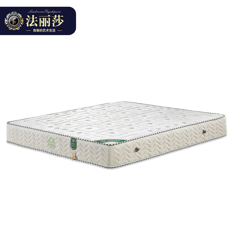 聚法丽莎家具K1天然乳胶床垫1.5米1.8米椰棕软硬床垫天然环保床垫