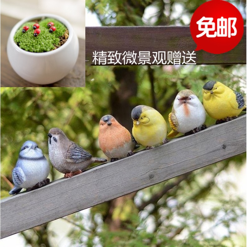 Творческого моделирования животных дворе сад украшения, украшения сада мебель смолы ремесла животных птиц