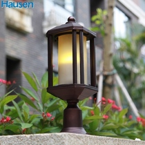 Outdoor column lamp American outdoor wall lamp wall lamp courtyard Gate column lamp die-casting aluminum LED lamp