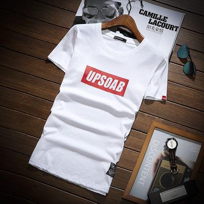 夏季男装短袖t恤青年韩版圆领半截袖体恤潮流短袖上衣DJ751TP15