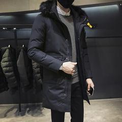 2018新款男士棉衣中长款冬装棉服外套棉袄 控258 DS204TP185