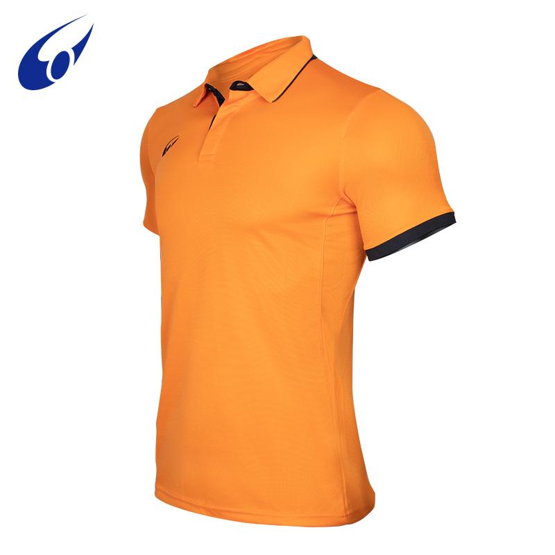 Wanyuda mens sports T-shirt short sleeve summer contrast casual polo shirt Manchester United 1109