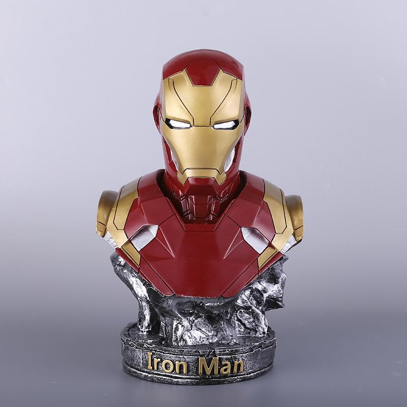 铁人模型MK46雕像复仇者联盟4 漫威动漫影视周边大摆件手办胸像