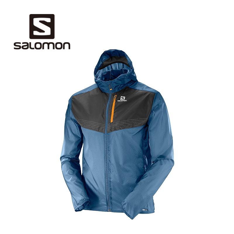 Salomon бодхисаттва лухао мужской ветролом куртка кожа ветровка FAST WING