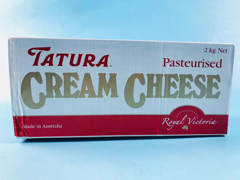 塔图拉奶油奶酪2kg澳大利亚进口大利年奶油芝士蛋糕烘焙原料限时抢购