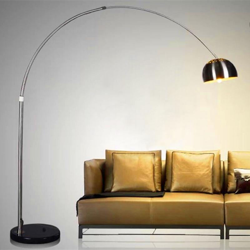 现代简约意大利 落地灯客厅灯卧室麻将灯钓鱼灯台灯 遥控护眼LED