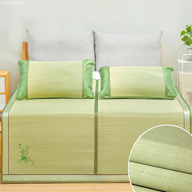 天然兰草席1.8m折叠1.5米双人床芦苇席垫子草编1.2学生宿舍蔺草