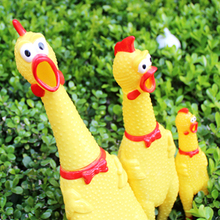 Five Battle Chicken Man Pet Voice Dog Toy Scream Chicken