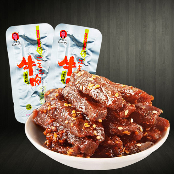 天椒牛肉条 江志忠五香牛肉干牛肉条 独立小包装250g包邮