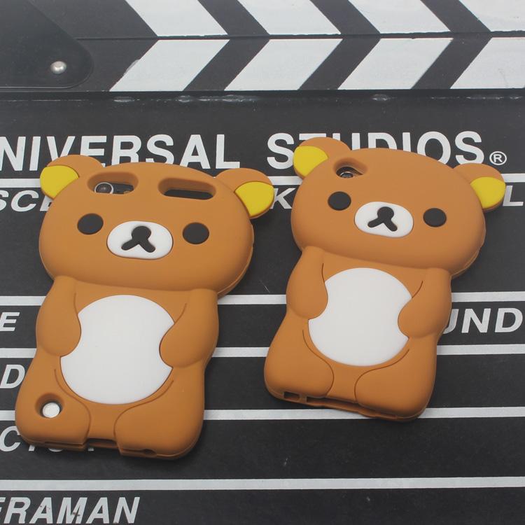 轻松熊itouch6保护壳ipod touch5全包软壳硅胶套touch4保护套