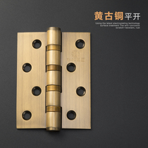 Sub-solid stainless steel door hinge hinge folding door solid wood door Hinge 4 inch hinge