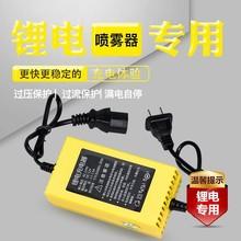 。12伏电动喷雾器锂电池铅酸电瓶品口充电器多用夹子充电器12V通