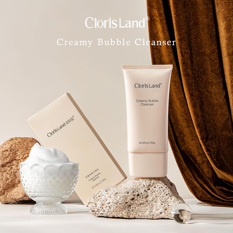 【新品上市】花皙蔻小奶盖氨基酸洗面奶洁面乳深层清洁控油男女士图片