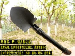 工兵铲兵工铲子多功能铁锹户外军锹军铲防身中国折叠军工钓鱼包邮