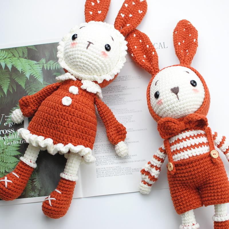 菲菲姐家钩针编织玩偶毛线材料包