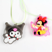 Childrens birthday party supplies led luminescent Necklace cartoon series pendant birthday luminescent necklace