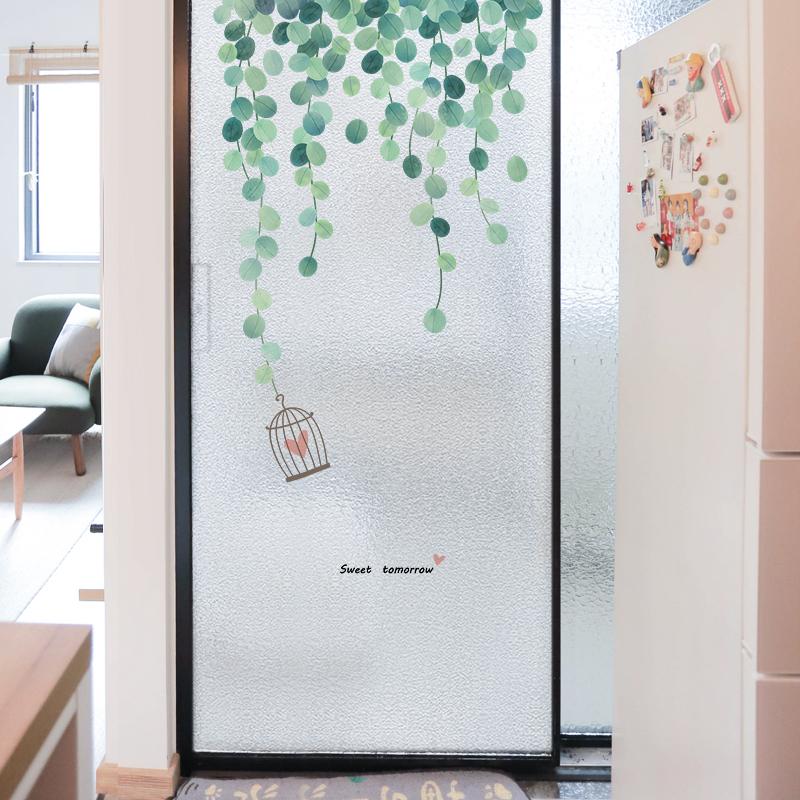 北欧磨砂静电阳台卫生间窗户贴纸好不好