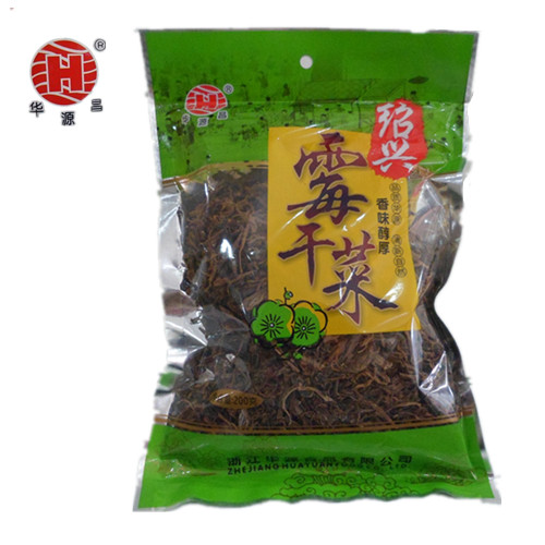 Hangzhou specialty Shaoxing mouldy dried vegetables huayuanchang high quality dried vegetables