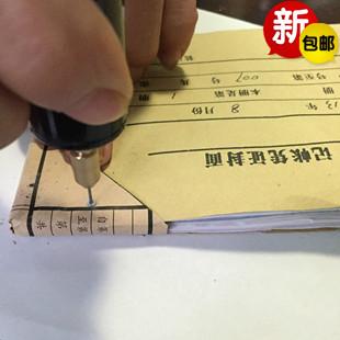 订机打孔小型电转微型电钻迷你电磨手电转小功率电钻 订凭证账装 装