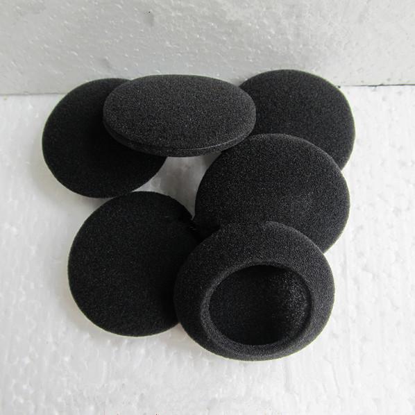 坐席耳机海绵 4.5cm直径 耳机海绵套 头戴棉套 耳麦耳棉套 进口料