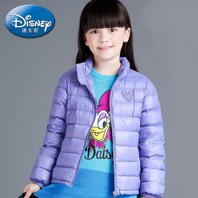迪士尼兒童拉鏈羽絨服