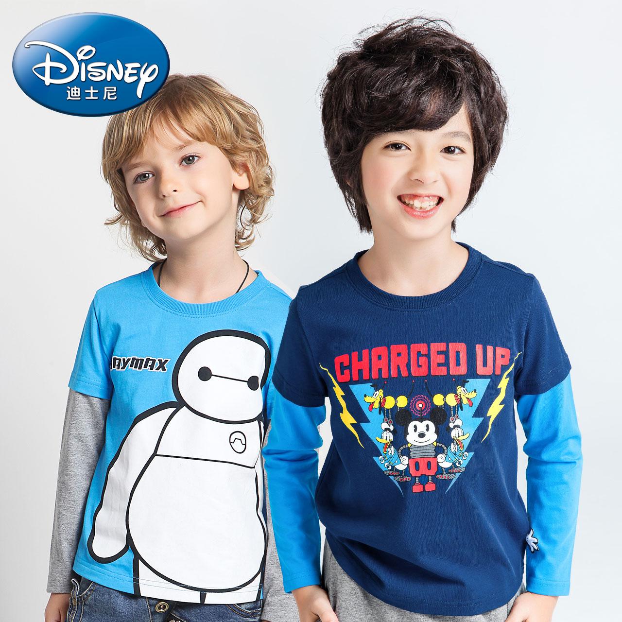迪士尼中大童純棉打底衫
