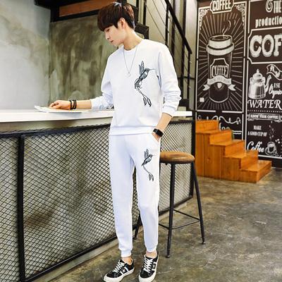 【控69】春秋季男士套头卫衣青年韩版潮流休闲运动两件套BT41 P65