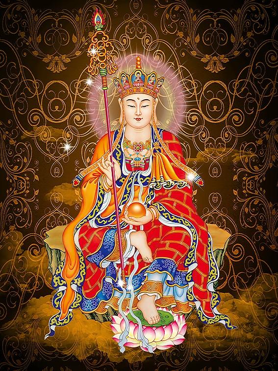 Узел край специальный победа земля тибет король будда будда так живопись инжир картины династия тан карта фотобумага дуплекс пластик