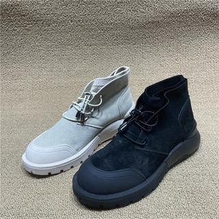 尾单断码处理真皮马丁靴女鞋2021新款春秋单靴靴子女英伦风短靴女