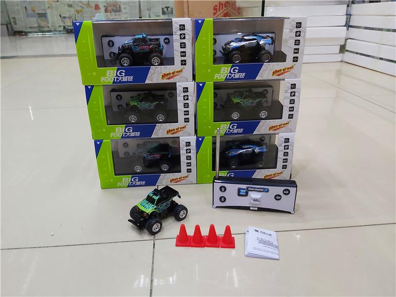 迷你无线遥控车玩具越野车汽车模型