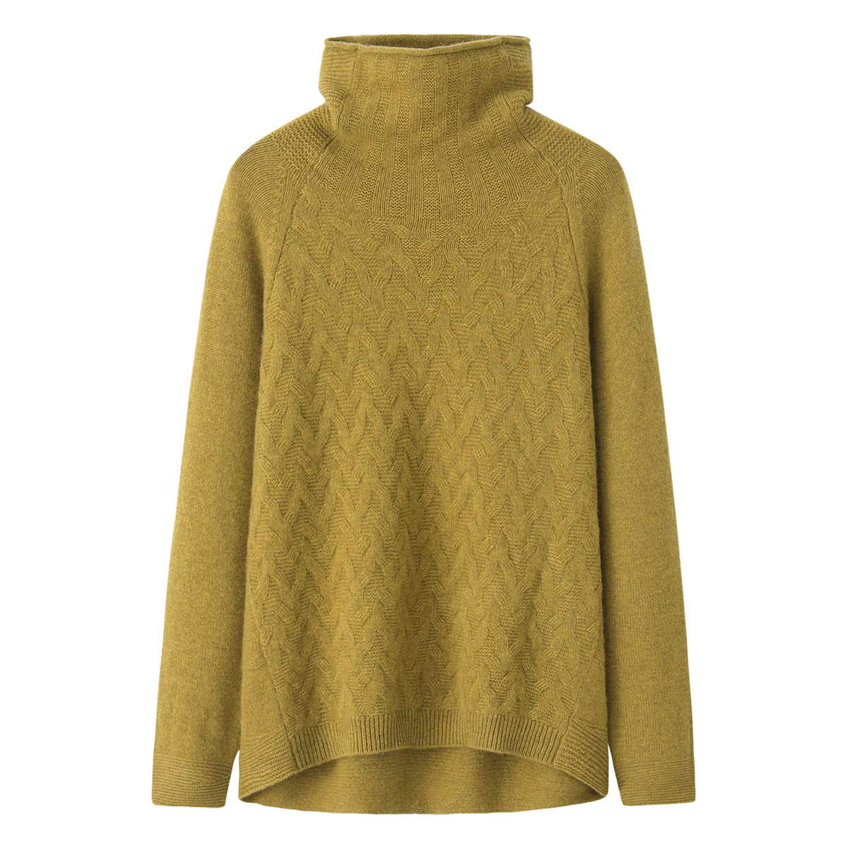 2021 new womens cashmere sweater pile neck hollow knitting thin bottomed sweater loose irregular sweater