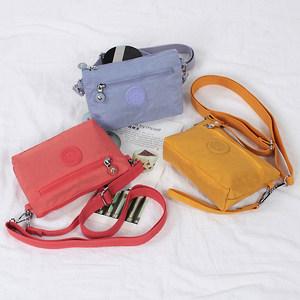 夏天迷你小包包手机包女斜挎手拎简约零钱包帆布手拿布包散步小包