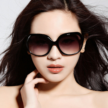 Ms. Sunglasses 2019 New Polarized Sunglasses Anti-ultraviolet Large Frame Retro Large Face Round Face Glasses Korean Edition Tide