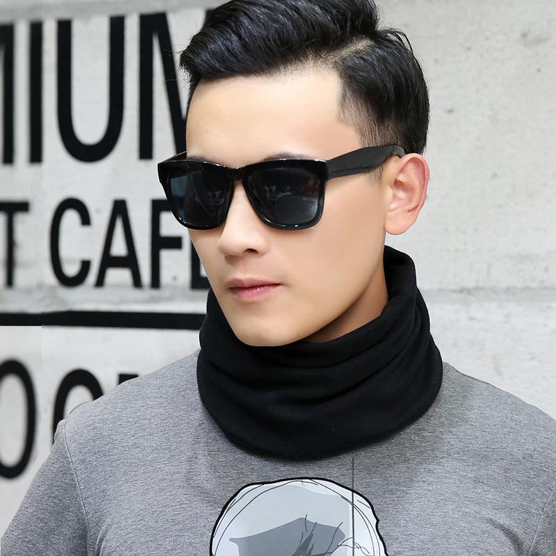 围脖男套头帽潮两用短脖套年轻人户外骑行秋冬季学生韩版保暖围巾
