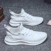 2019秋季新款男士帆布鞋男鞋休闲鞋男韩版布鞋潮板鞋低帮小白鞋子