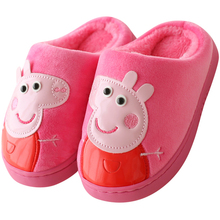 Piggy child child cotton slipper bag and baby slipper winter man Tong Maomao child home warm cotton shoes