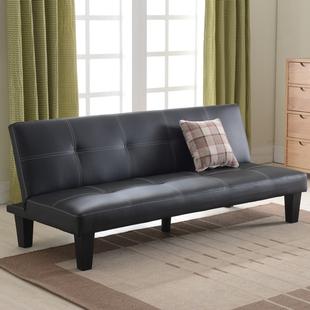 小户型沙发床可折叠客厅单人双人三人1.8米简易两用皮艺折叠沙发