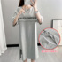 Nursing clothes go out hot mom cotton summer nursing dress mid-length nursing clothes summer thin skirt